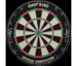 Viper Shot King Sisal Fiber Bristle Dartboard
