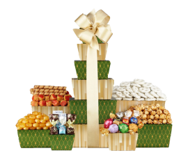 Gift Baskets Tower of Sweets