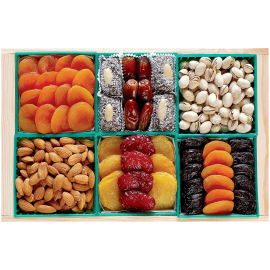 Fruit and Nut Crate Gift Tray