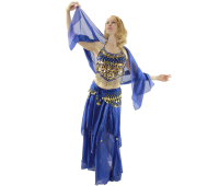 Belly Dance Costume 5-Piece Set