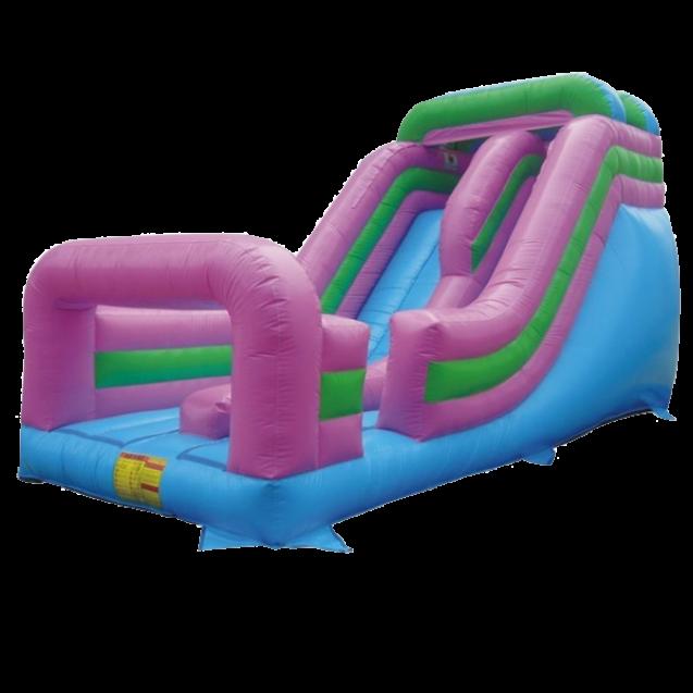 21 Foot Inflatable Single Lane Slide