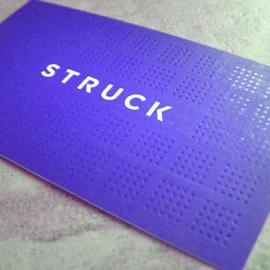 Struck cards