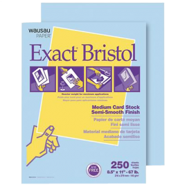 Exact Vellum Bristol Card Stock