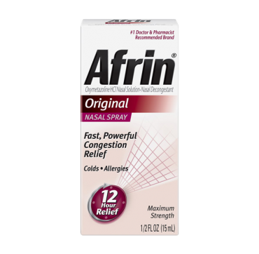 Afrin 12 Hour Nasal Spray, Original