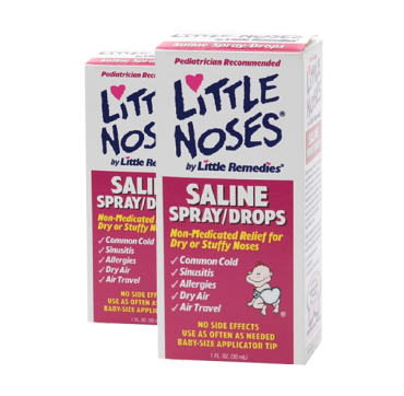 Little Noses Saline Spray, Non-Medicated 1 fl oz (30 ml)