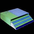 Slipcase with Plastic Coil Books