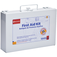 First Aid Only 224-u Shop Office First Aid Kit 25 Person Metal Kit