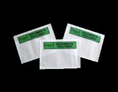 Documents Enclosed Envelopes green