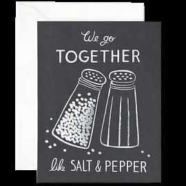 Salt Pepper Foil Print