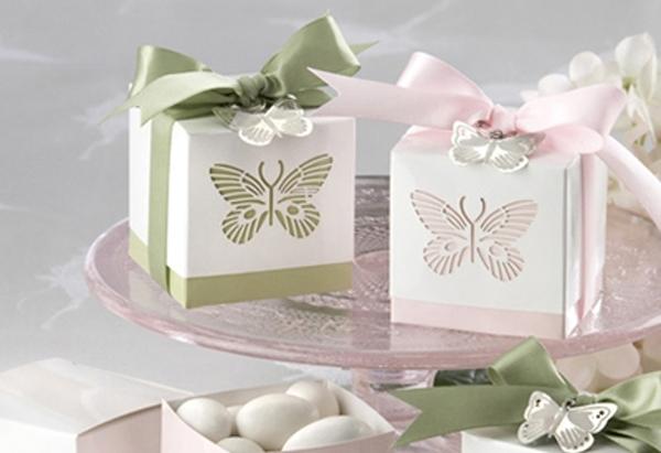 Butterflies Laser-Cut Favor Box