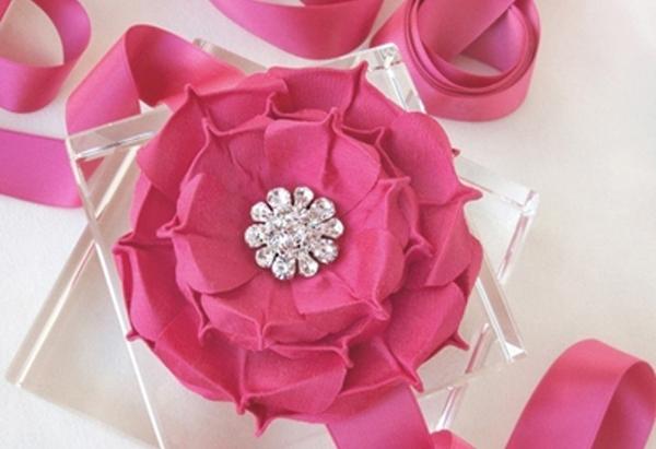 Silk Rapture Rose Sash