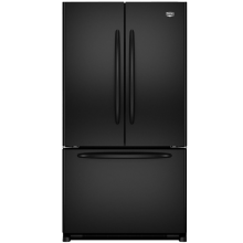Maytag MFF2558VEB Black French Door Refrigerator - Energy Star