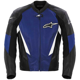 Alpinestars Stage Perforated Leather Jacket