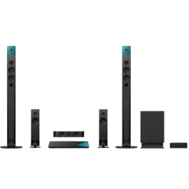 Sony BDV-N8100W 5.1 Channel 3D Blu-ray Disc Home Theater System with Wireless Rear Speakers