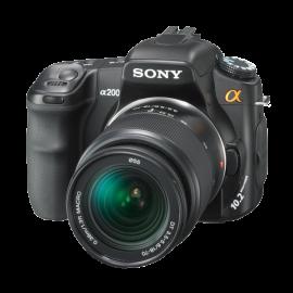 Sony Alpha A200K 10.2MP Digital SLR Camera Kit with Super SteadyShot