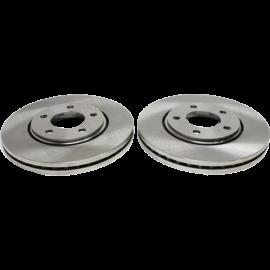 Replacement REPL270101 Brake Disc and Pad Kit - 11.06 in. Disc Diameter