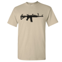 AR-15 Nature Grass and Animals