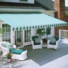 Heartland retractable patio awnings