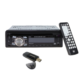Car Vehicle In Dash Detachable Panel Stereo Audio Video FM Receiver