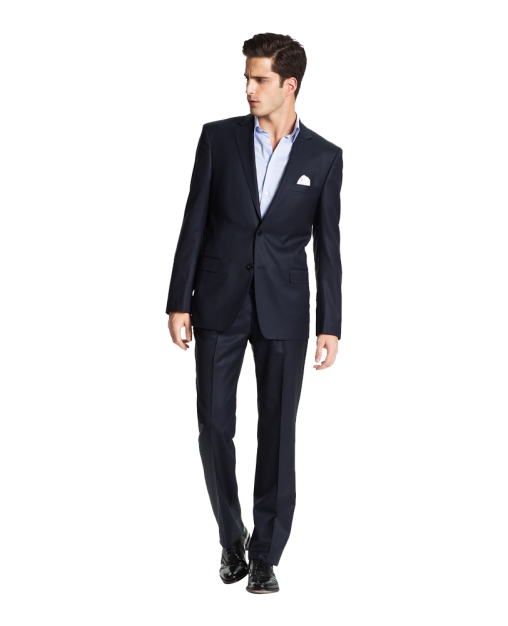 Trim Fit Wool Suit (Online Only)