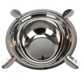 4 Stirrup Original Stinky Cigar Ashtray - Stainless Steel
