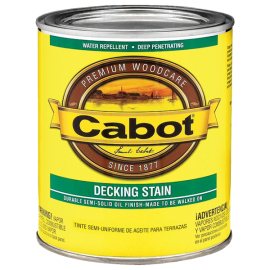 Cabot Stain 140-1407 QT 1 Quart Deep Base Decking Stain