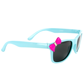 Bow Peepers Polarized Lens Protect Kids Eyes. Girl's Sunglasses Wayfarer Frames