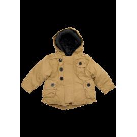 Boy's 4 In 1 Cozy Sherpa Hooded Microfiber Parka