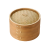 Typhoon double tier bamboo steamer