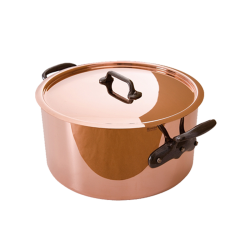 Mauviel mheritage copper and stainless steel stew pot 24cm