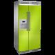Side-by-side electrolux refrigerator