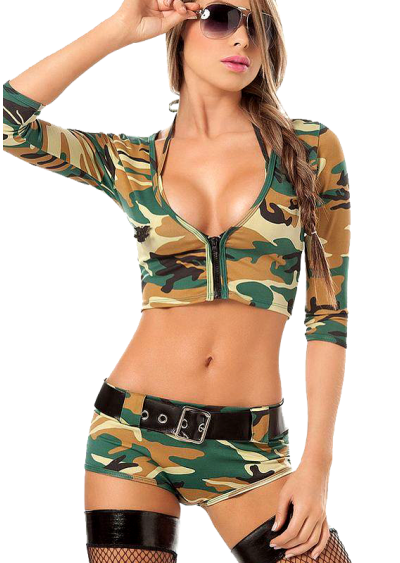 Sexy lingerie Camouflage