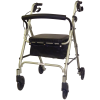Royal 807 Aluminum 4 Wheel Rollator