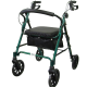 Royal DLX 812 Aluminum 4 Wheel Rollator
