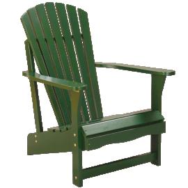 Adirondack Chair in Hunter Green