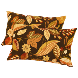 Greendale Home Fashions Rectangular Outdoor Polyester Accent Pillows (Set of 2)
