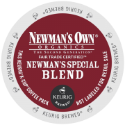 Keurig Newman's Own Organics Special Blend K-Cup Packs 72 Count