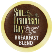 San Francisco Bay Coffee Breakfast Blend 80 OneCup Single Serve Cups