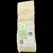 Tiny Footprint Coffee Organic Light Roast Ground Coffee 16-Ounce Bags (Pack of 2)