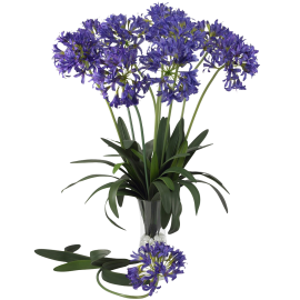 Nearly Natural 29-in. Set of 12 African Lily Stems