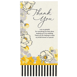 Black and gold floral greatings card for present