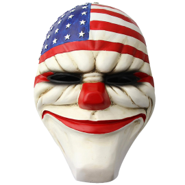 Crazy Genie Hoxton Mask Replica Clown Resin Mask Chains HOXTON Wolf Mask
