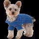 Designer Pet Clothes, Royal Blue Dog Aran Sweater