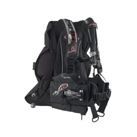 Aeris 5 Oceans Buoyancy Compensator - Warm or Cold Water - Only 7.5 lbs - Packs Flat For Travel