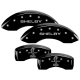 MGP® - Gloss Black Caliper Covers with Engravings