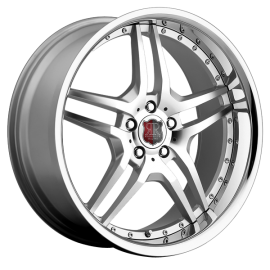 RODERICK® - RW2 Silver with SS Lip