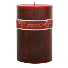 Archipelago Joy 4x6 Pillar Candle