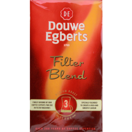 Douwe Egberts Douwe Egberts Filter Blend Ground Coffee Medium Roast 8.8-Ounce Packages (Pack of 4)