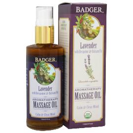 Badger Lavender Aromatherapy Massage Oil