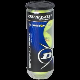 Dunlop Sports Grand Prix Hard Court 3 Ball Can